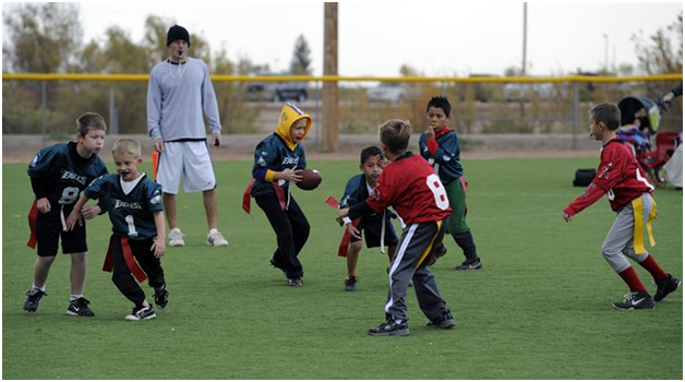 Why you should encourage your kids to play contact sports